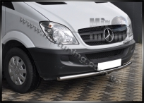 Ус одинарный d-60mm для Mercedes Benz Sprinter W906  нержавейка 2mm
